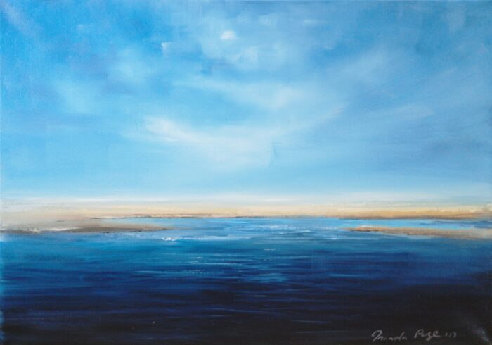 endless day oil painting 42x59