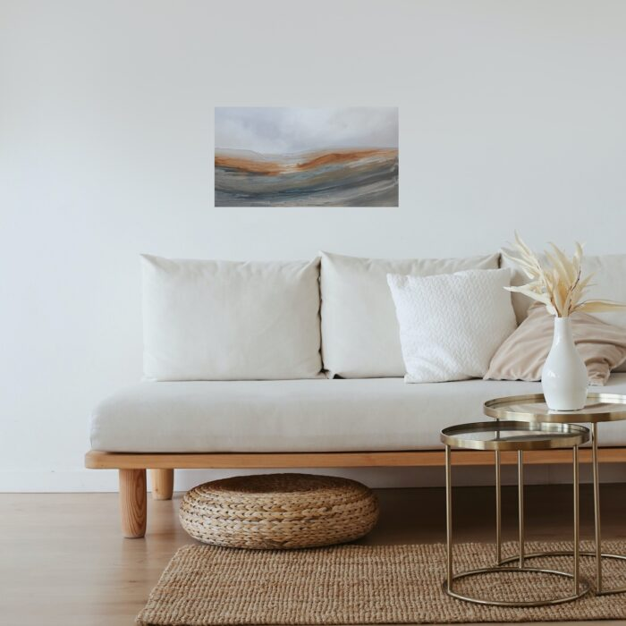 Autumn oil painting in lounge