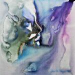forgotten 40x40 mixed media on canvas
