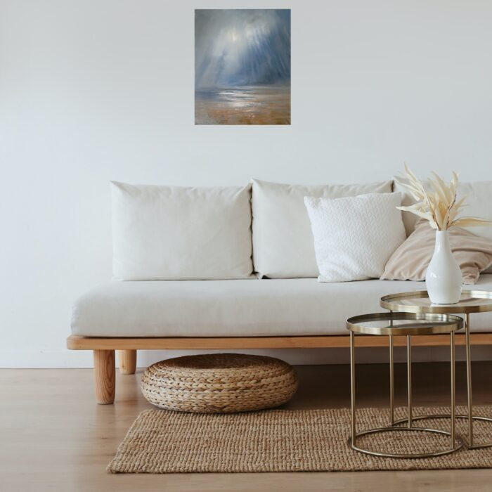graceful-painting-in lounge