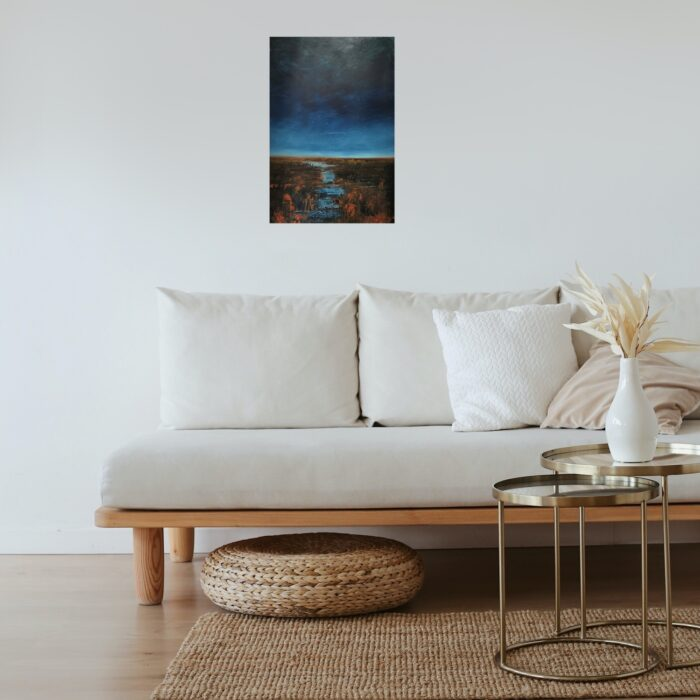 daybreak painting in lounge 76x50