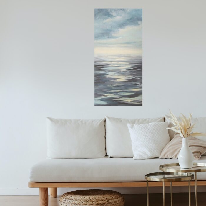 leaving shallow waters-painting-in lounge