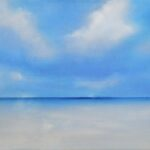 SOLD A sky (reworked)30x70 oil on linen