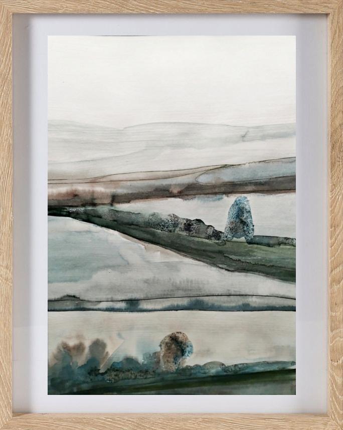 terre verde b framed