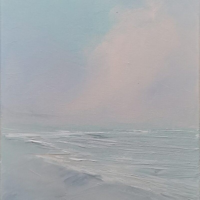 Spun 50x25 oil on canvas
