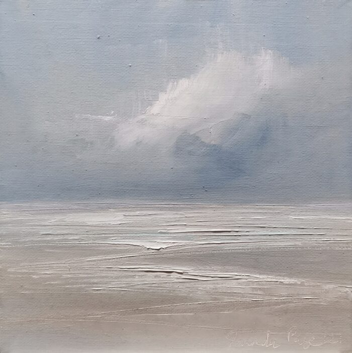 Wind swept 20x20 oil painting