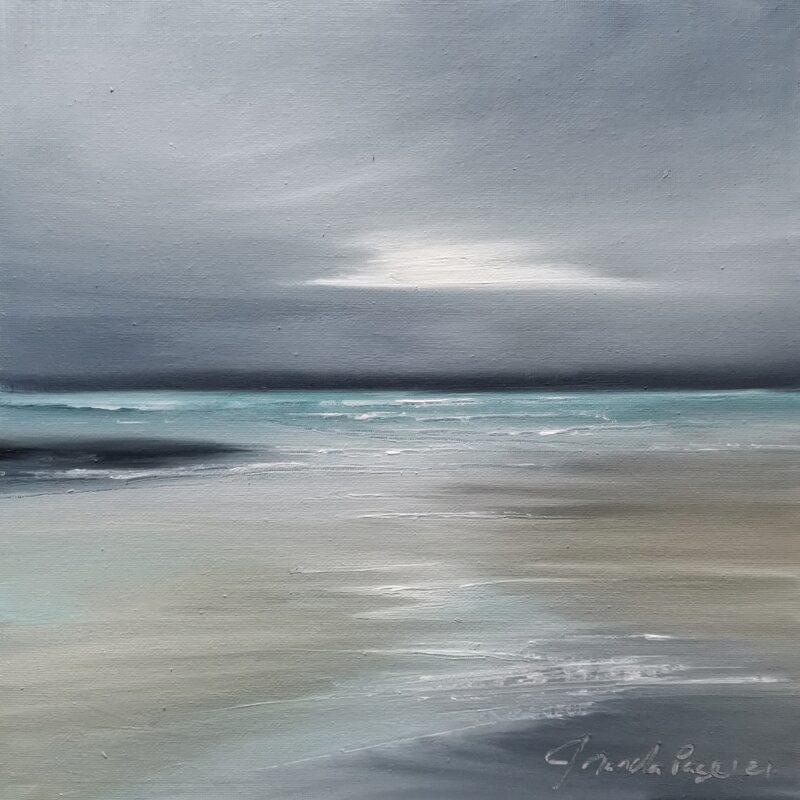 Estuary 30x30 oil on canvas