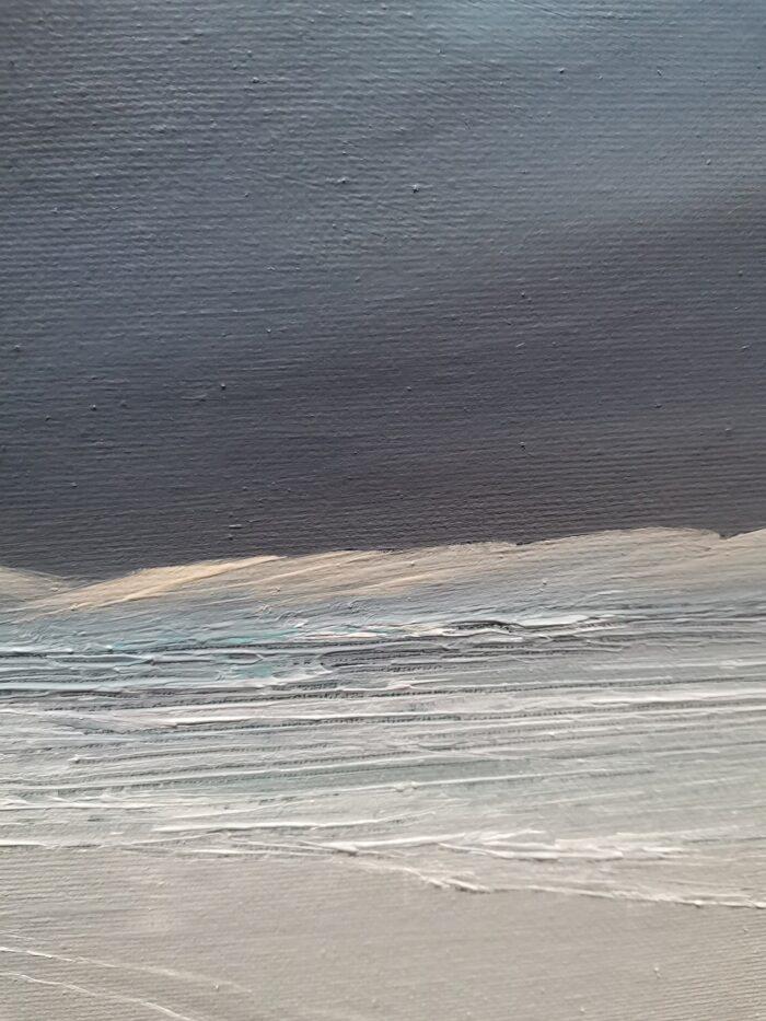 desert edge oil painting colours and detail