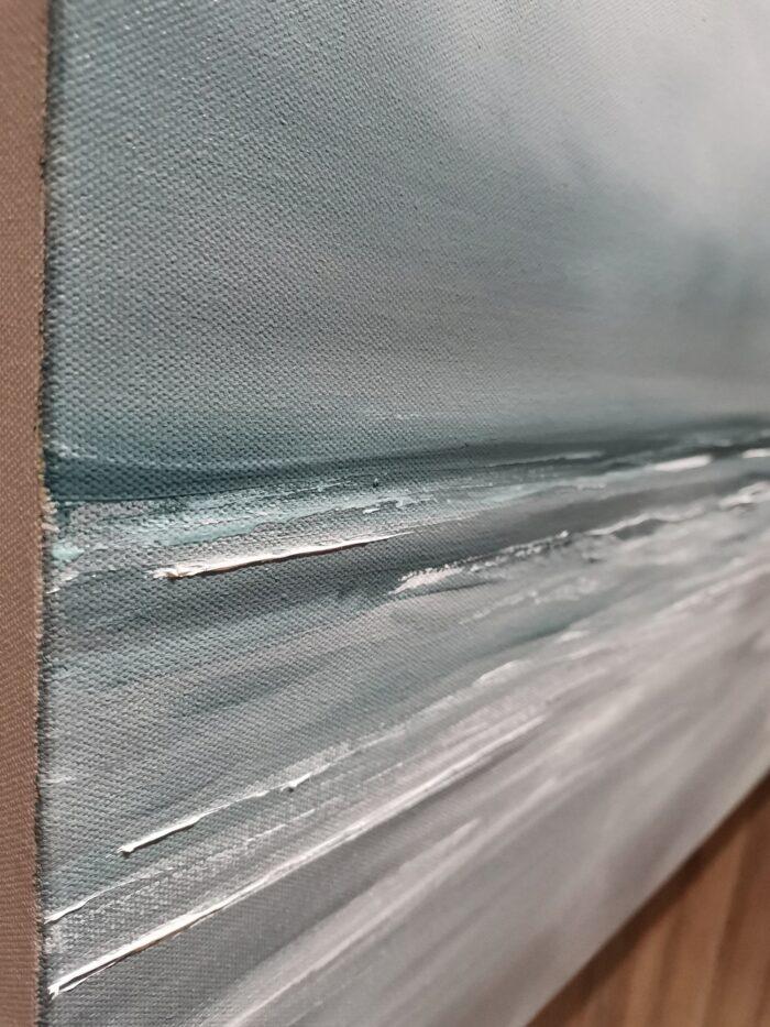 Swift 61x122 oil on canvas texture